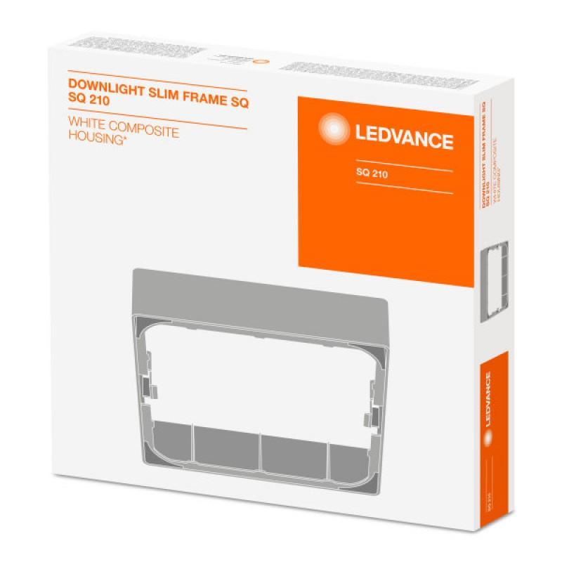 DL SLIM SQ210 18W/3000K WT IP20 LEDVANCE фото 9