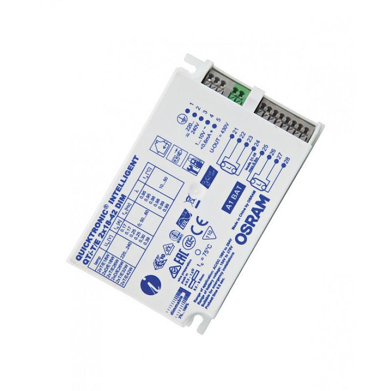 QTI-T/E 2X18-42/220-240 DIM VS20 OSRAM фото 2
