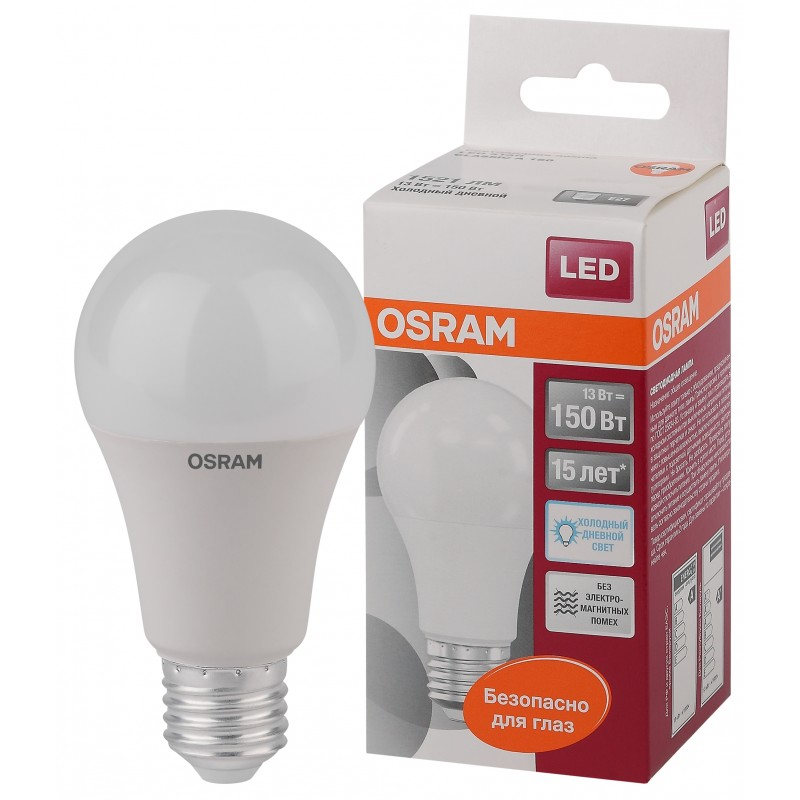 LED STAR CLA150 13W/865 230V FR E27 OSRAM фото 1