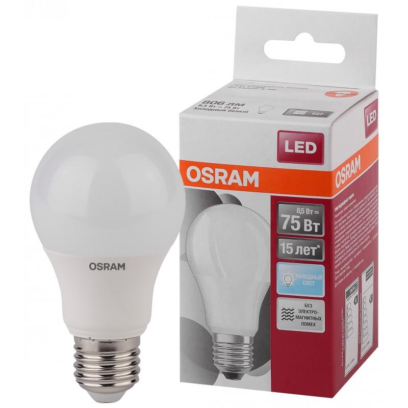LED STAR CLA75 8,5W/865 230V FR E27 OSRAM фото 1
